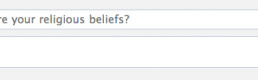 """What are your religious beliefs?"" – a question of if religion becomes public again in social networking"