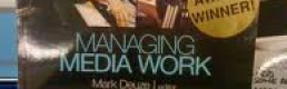 Book Review: Managing Media Work by Mark Deuze