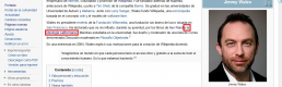 Hey Jimmy Wales, Nobody Cares About your Life in the Spanish Wikipedia