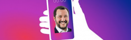 Too young to vote, but not to like: is Matteo Salvini attempting to reach under-age youngsters on Tik Tok?