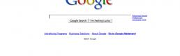 blog.google.com: Internet finally subsumed by Blogs