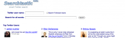 The Potential Power of Twitter's Search Engine