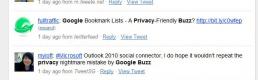 Google, Buzz off! A reflection..