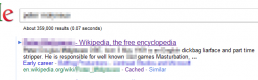 Wikipedia, we have a Google refresh problem!