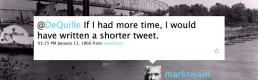 Twitter as a conceptual frame