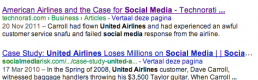 A comparison on online branding and popularity between KLM and United Airlines