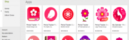 How are gender norms reconstructed through app store ecologies and visual interfaces?