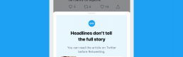 Call to think: Twitter and Facebook urge users to fact-check information