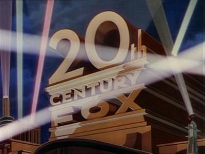First 20th Century Fox Logo with Searchlights