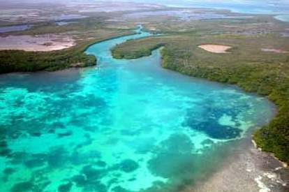 Bacalar Chico Channel