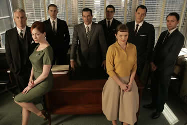 mad men key roles