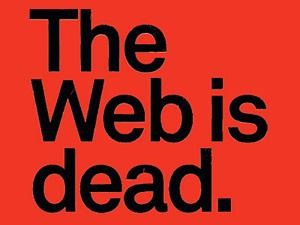 web is dead