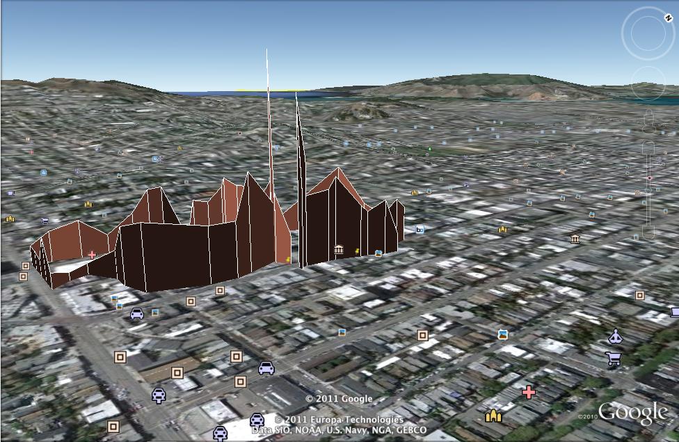 One respondent's journey through San Francisco
