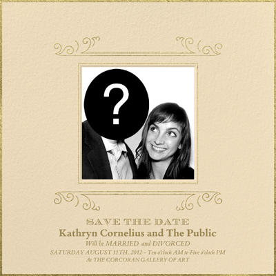 Kathryn Cornelius Save the Date Invitation