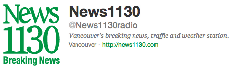 @News1130Radio on Twitter