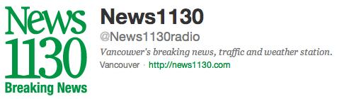 @News1130Radio on Twitter