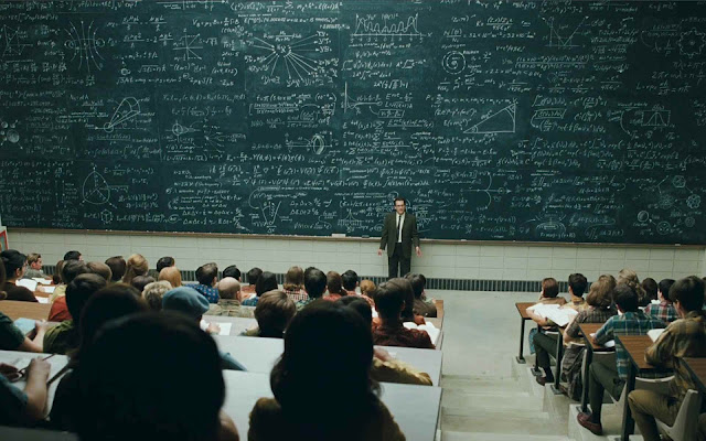 A screencap from the Coen brothers' 2009 film &quot;A Serious Man&quot;