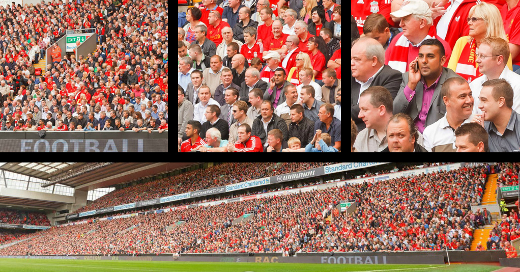 Liverpool fans panorama