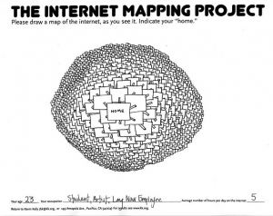 Kevin Kelly - The Internet Mapping Project