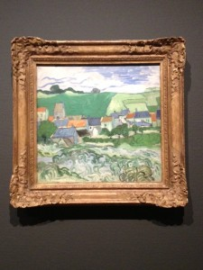 View of Auvers, Vincent Van Gogh, 1890