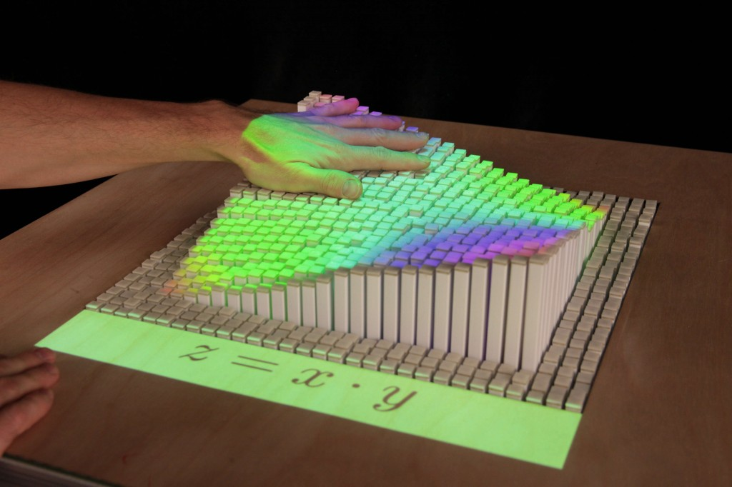 MIT Tangible Media Group-Dynamic Shape Display