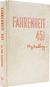 1953 fireproof copy of Fahrenheit 451