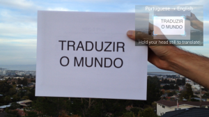 Google Glass Translation