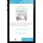 Training Wheels is a new application that combines gamification and digital means to provide a unique way of learning a real life skill. Photo courtesy of Training Wheels.