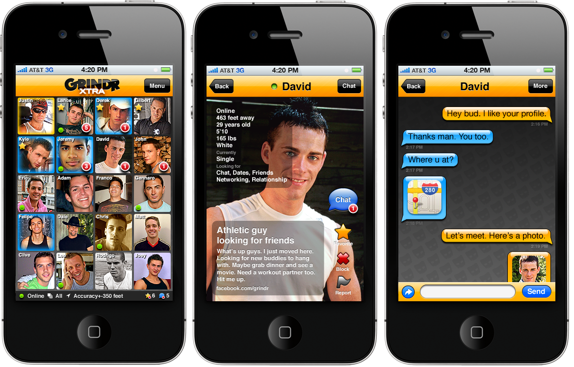 Grindr in image