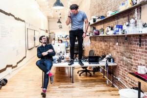 Neistat and Matt Hackett, anxiously awaiting the release of their app