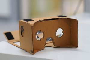 The Google Cardboard VR Mount