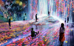 Source: teamLab Borderless Tokyo Official Site, https://borderless.teamlab.art/ew/iwa-waterparticles/