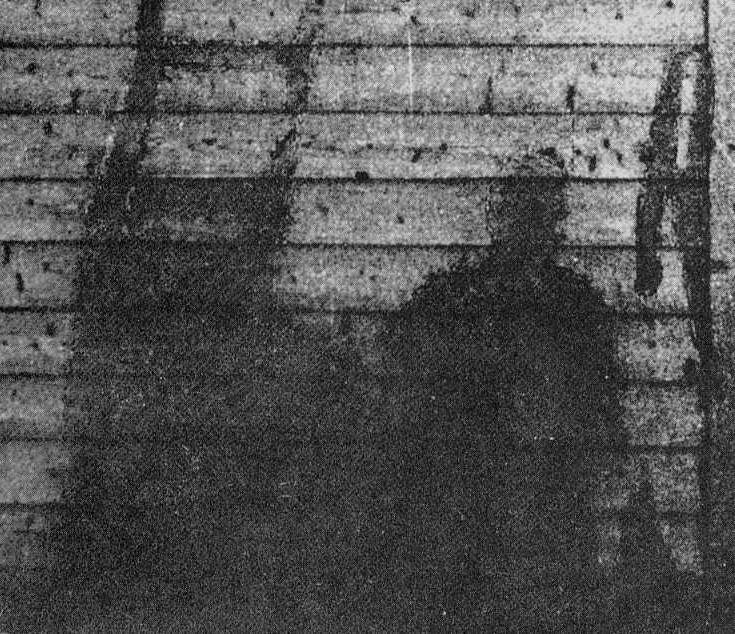 Hiroshima shadow with ladder (2)