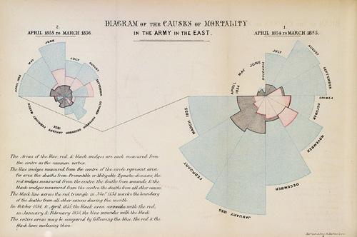 Florence Nightingale's Coxcombs