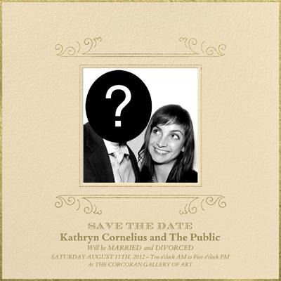 Kathryn Cornelius Save the Date Invitation