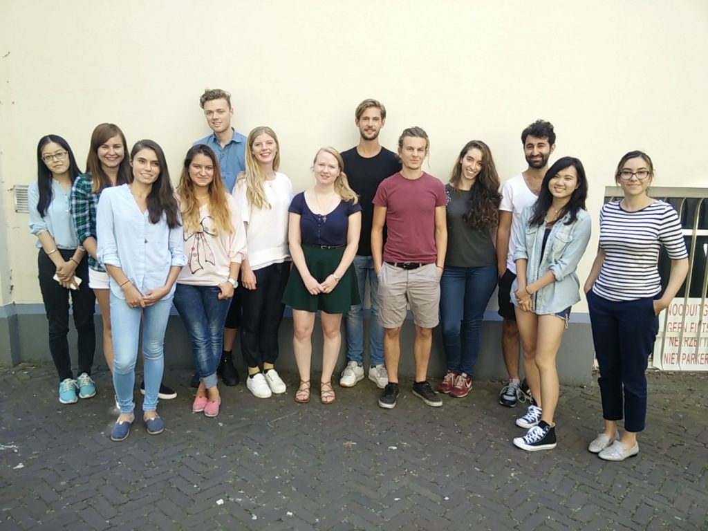 MA students New Media and Digital Culture, group 1