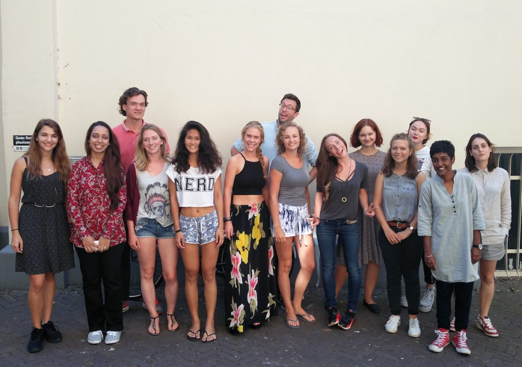 MA students New Media and Digital Culture, group 2