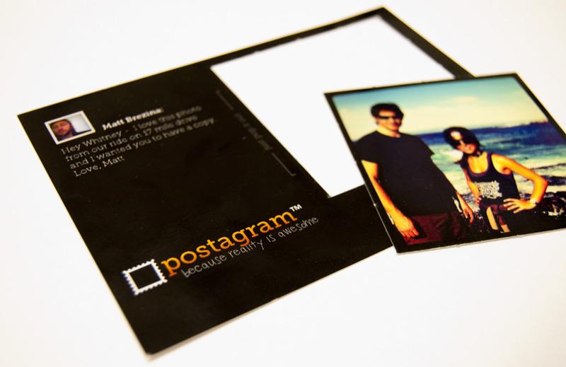 postagram postcard