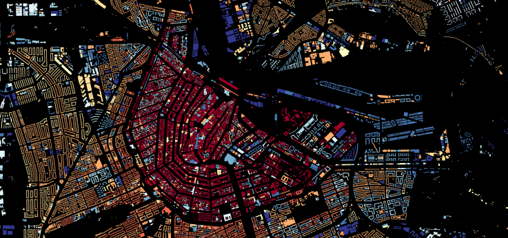 Building map Amsterdam