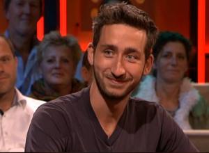 Dave Hakkens on Dutch television show De Wereld Draait Door (VARA)