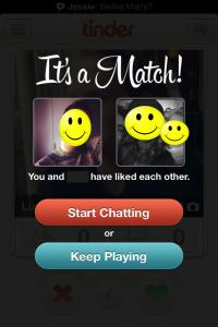 It's a Match on Tinder