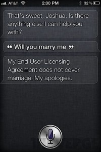 Joking with Siri