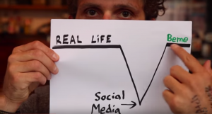 Casey Neistat explaining his ambitions for Beme
