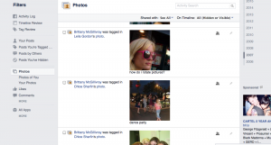 Facebook Currently Requires You to Individually Select the Photos You Wish to Untag.