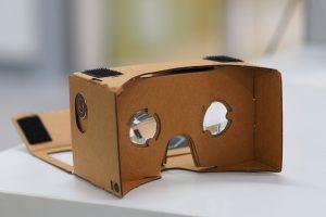The Google Cardboard VR Mount