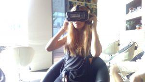 The VR Cinema setup